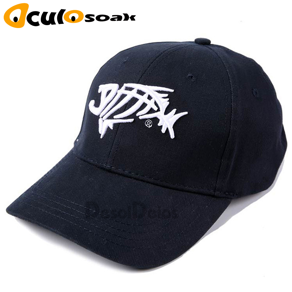 Fishing hat black fish bones Sun protection fishing cap Outdoor jungle hat gorra pesca hats for fishing size adjustable in Men 39 s Baseball Caps from Apparel Accessories