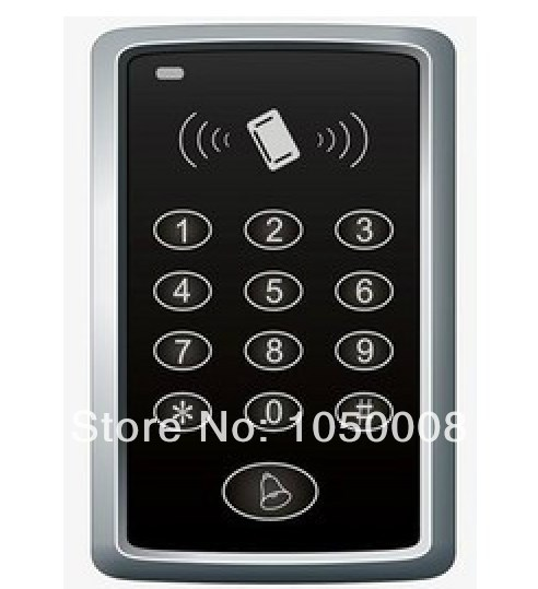 RFID Proximity Door Access Control Keypad system 125KHz EM ID card Access Controller + 5pcs rfid tag diysecur lcd 125khz rfid keypad password id card reader door access controller 10 free id key tag b100