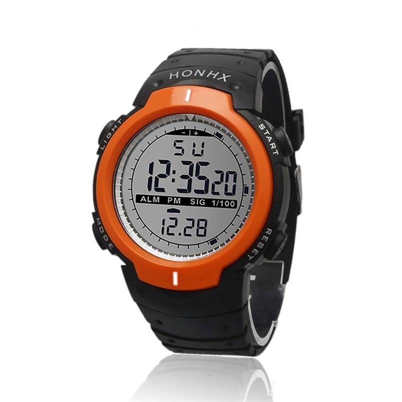 waterproof outdoor sports watches digital led quartz