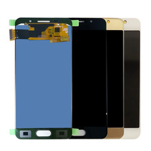 SZMUGUA TFT LCD Touch Screen Digitizer For Samsung Galaxy A3 2016 A310 A3100F A3100 A310F LCD Display Tot quality(China)
