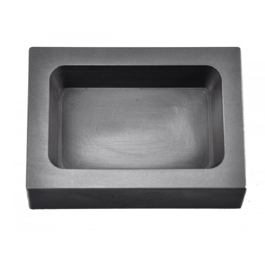Graphite Ingot Mold for 1 Lb copper casting /molten brass crucible graphite ,FREE SHIPPING boxpop lb 081 35