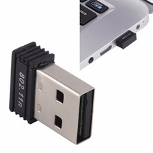 1PC Wireless Network Card LAN Adapter for Raspberry pi Laptop Desktop Computer 150Mbps Mini USB WiFi Adapter Dongle 802.11b/g/n