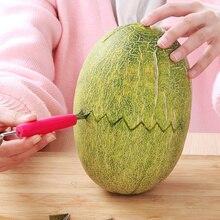 Нож для резки фруктов с двумя головками, Фруктовое пюре, картофель/арбуз/лопатка для дыни, экскаватор, ложка для мороженого, кухонные принадлежности гаджет 1 шт