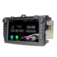 "8"" Quad Core Android 7.1.1 2GB RAM 16GB ROM Car DVD Multimedia Player Autoradio Bluetooth stereo for Toyota Corolla 2006-2011"
