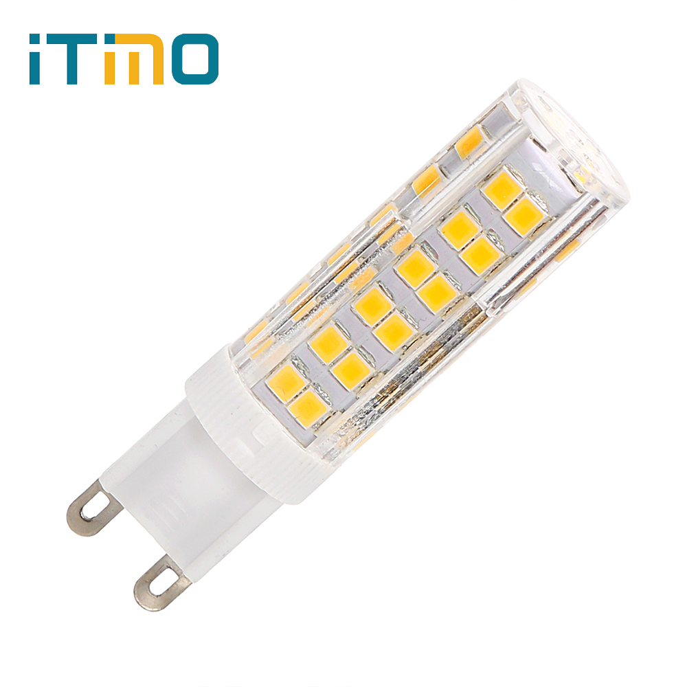 iTimo G9 LED Bulb Super Bright Chandelier LED Light Replacement Lamp White/ Warm White AC 220V Energy Saving No Flicker SMD2835