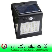Водонепроницаемый солнечный светильник 40 30 20 светодиодный s PIR детектор движения дверной настенный светильник Открытый Светодиодный светильник на солнечной панели безопасности Точечный светильник ing