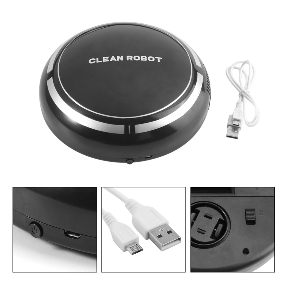 USB Rechargeable Sweeping Robot  2