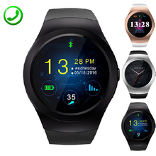 KS2 Round Smart Watch Support 2G GSM TF SIM Card Smartwatch Electronic Sport Activity Clock Inteligente Pulso For iOS Android