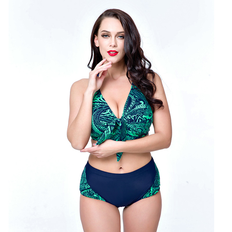 2017 neue Sexy Print Große größe 4xl-8xl badeanzug plus größe - Sportbekleidung und Accessoires - Foto 4