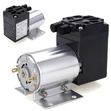 1pc DC12V 6W Mini Vacuum Pump 5L/min High Pressure Suction Diaphragm Pump With Holder цена
