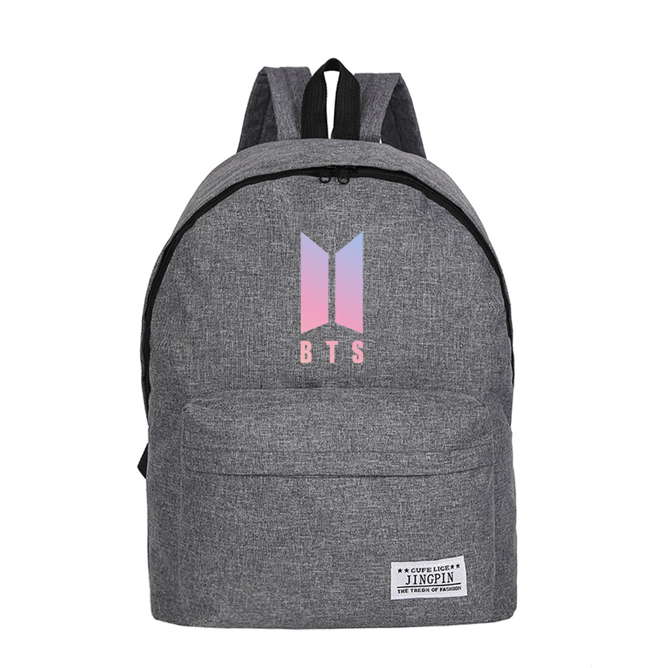 Bts Canvas Backpack 4 Types