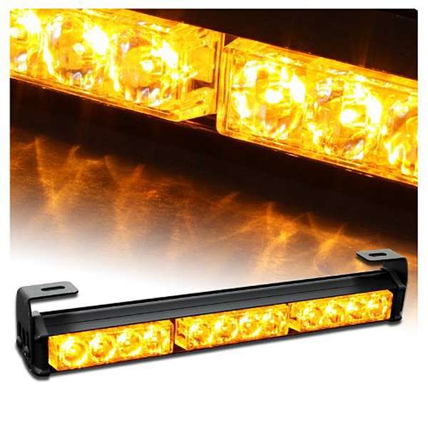 09004 14 Hazard Emergency Warning Traffic Advisor Strobe Light Bar flash rover lights rear brake lights zone bar lights DC12V