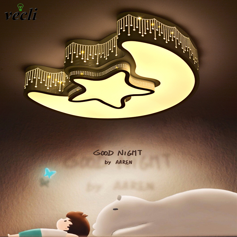 Led ceiling lamp home bedroom lighting lamps 85-265v 24W child baby room lights ceiling lamps bedroom decoration light