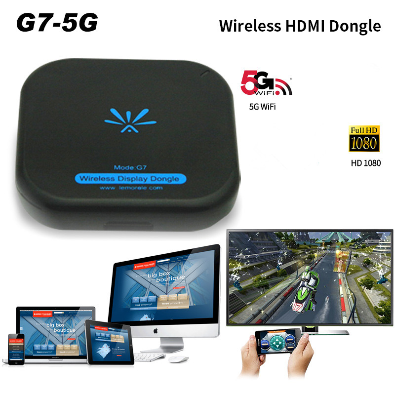MiraScreen Auto WiFi Display Dongle Spiegel Box 1080P Spiegelung Dongle Unterst/ützung Airplay Miracast DLNA GPS Navigation Konvertieren Android//iOS Ger/äte auf Auto-Bildschirm mit AV//HDMI-Ausgang