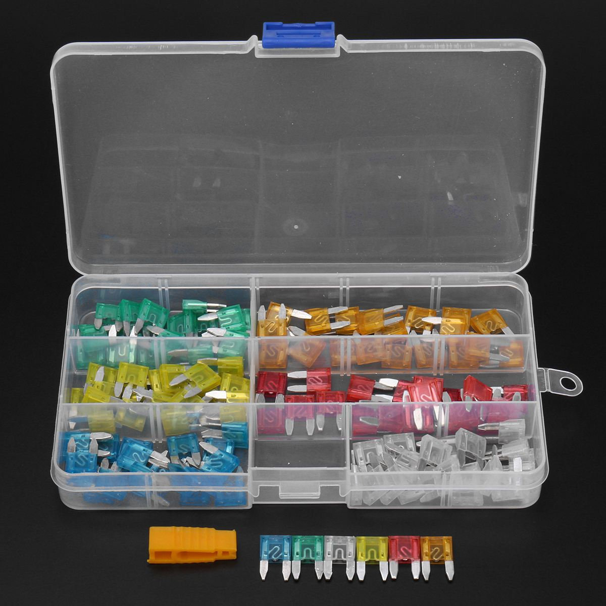 Aliexpress Com   Buy 120pcs Profile Small Size Mini Blade Fuse Assortment Set Auto Car Truck Dg