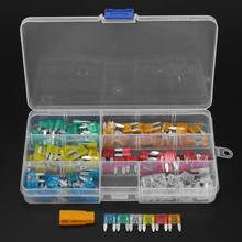 120Pcs Profile Small Size Mini Blade Fuse Assortment Set Auto Car Truck DG 5 10 15 20 25 30A Fuse Box(China)
