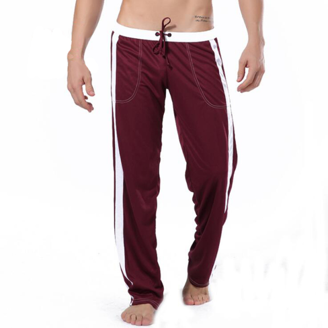 KWAN.Z pajamas for men sleepwear pajama trousers cotton loose pants thermal underwear homme pyjamas home pants men trouser