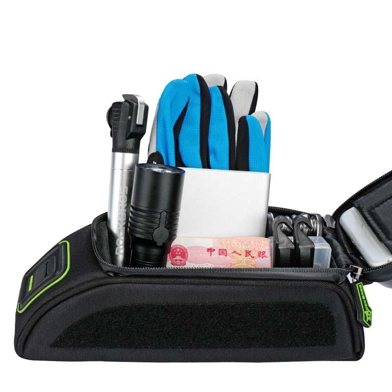 Rockbros velosipēdu soma 5.8 6.0 collu telefona maciņš - Riteņbraukšana - Foto 4