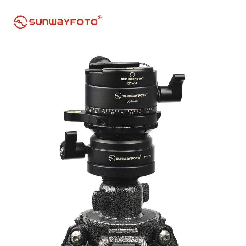 SUNWAYFOTO PANO-2 панорамный штатив для Dslr 360 Panoramas Профессиональный алюминиевый панорамный штатив с шаровой головкой