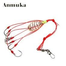 Anmuka 4pcs Explosion Fishook Fishing Hooks Pack Fishing Tackle Fish Hooks Super Deal High Carbon Steel Sharp Fishhooks