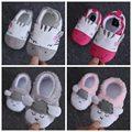 1 пара осень новорожденный мягкой подошвой малышей обувь для новорожденных детей Для Первых пешеходов B930
