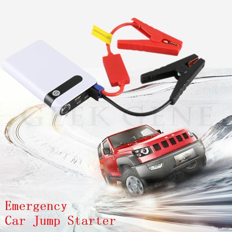 Mini Car Jump Starter Emergency Starting Device 12V Portable Starter Power Bank Car Charger for Car