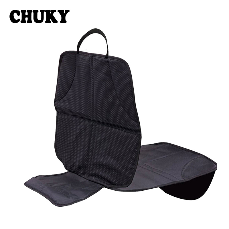 CHUKY Car <font><b>Seat</b></font> <font><b>Cover</b></font> Protector Mat Baby Kids Safety Anti Slip Wear Protection Pad For Mitsubishi ASX Jeep Wrangler <font><b>Peugeot</b></font> <font><b>207</b></font> image