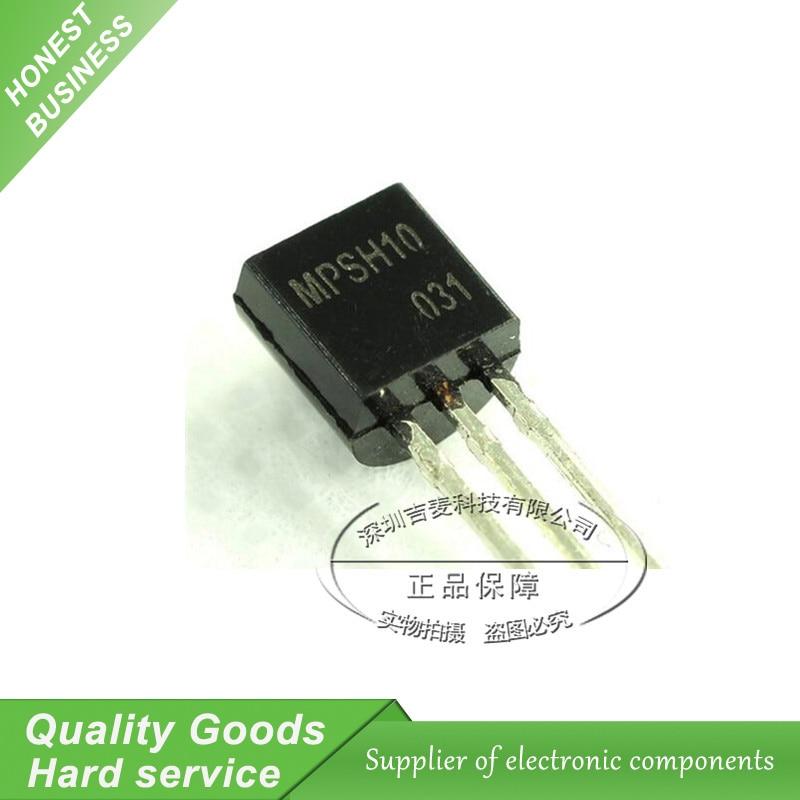 Aislador de transistor Pad 3 Pines TO-92 paquete Mpx 05 gfnb X 10 un Libre Post
