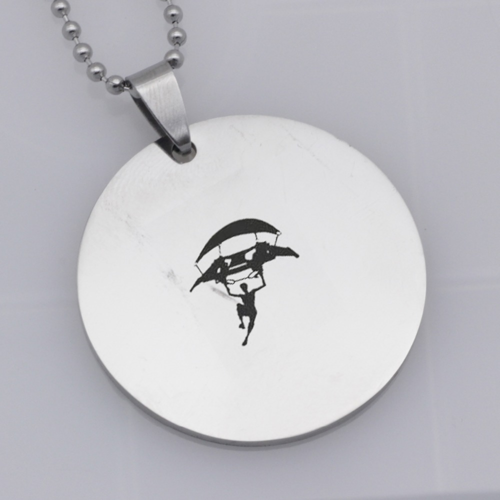 304 Stainless Steel Pendant 3style Hot&Classic FPS Game Fortnite Logo Necklace Personalized Jewelry Do not fade YLQ6002