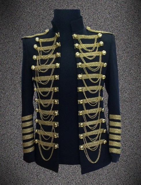 New Fashion Male Royal Clothing Star StageWear Master Jacket/Suits Men's Costume Holding Performance Black Blazer Suits