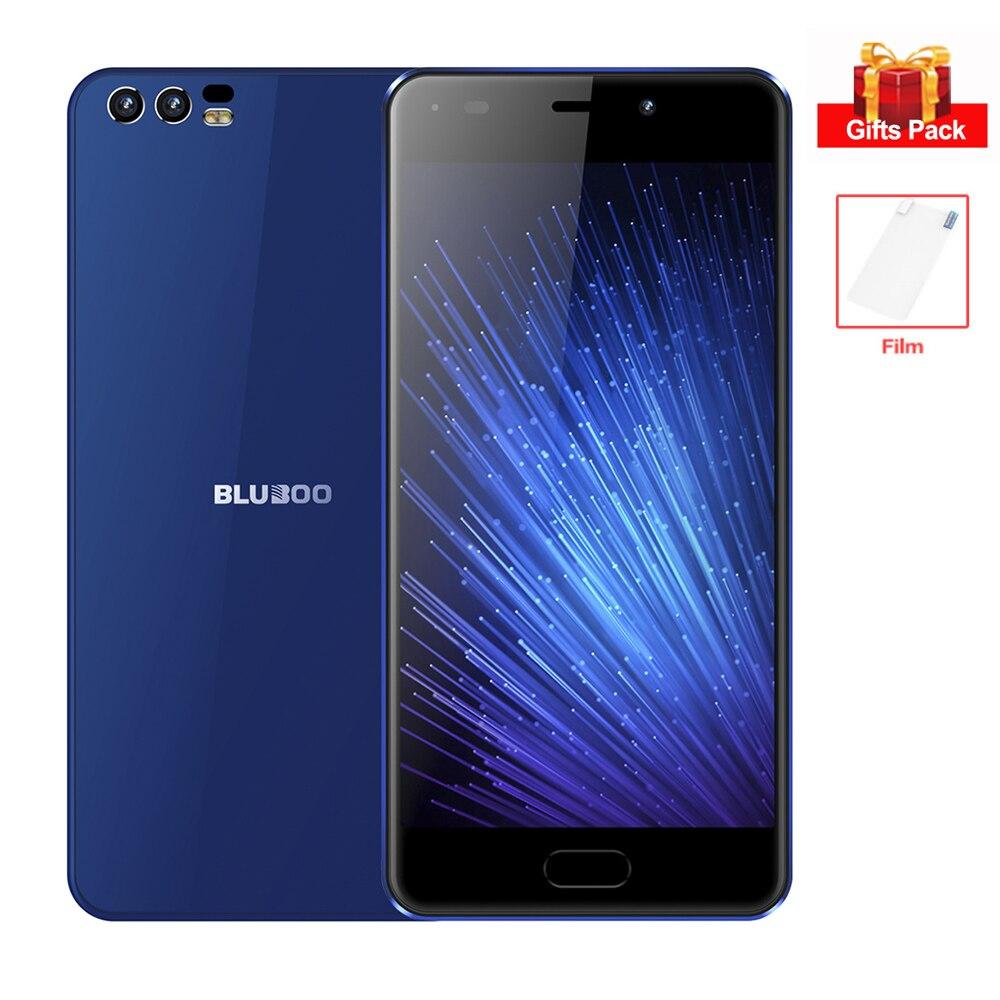 BLUBOO D2 3G Smartphone 1 GB di RAM 8 GB ROM Dual Telecamere Posteriori 5.2 pollice HD Dello Schermo di Android 6.0 Quad Core MTK6580A Cellulare 3300 mAh