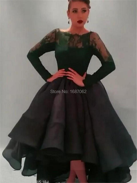 Aliexpress.com : Buy 2015 Hot New Saudi High Low Prom Dresses Long ...