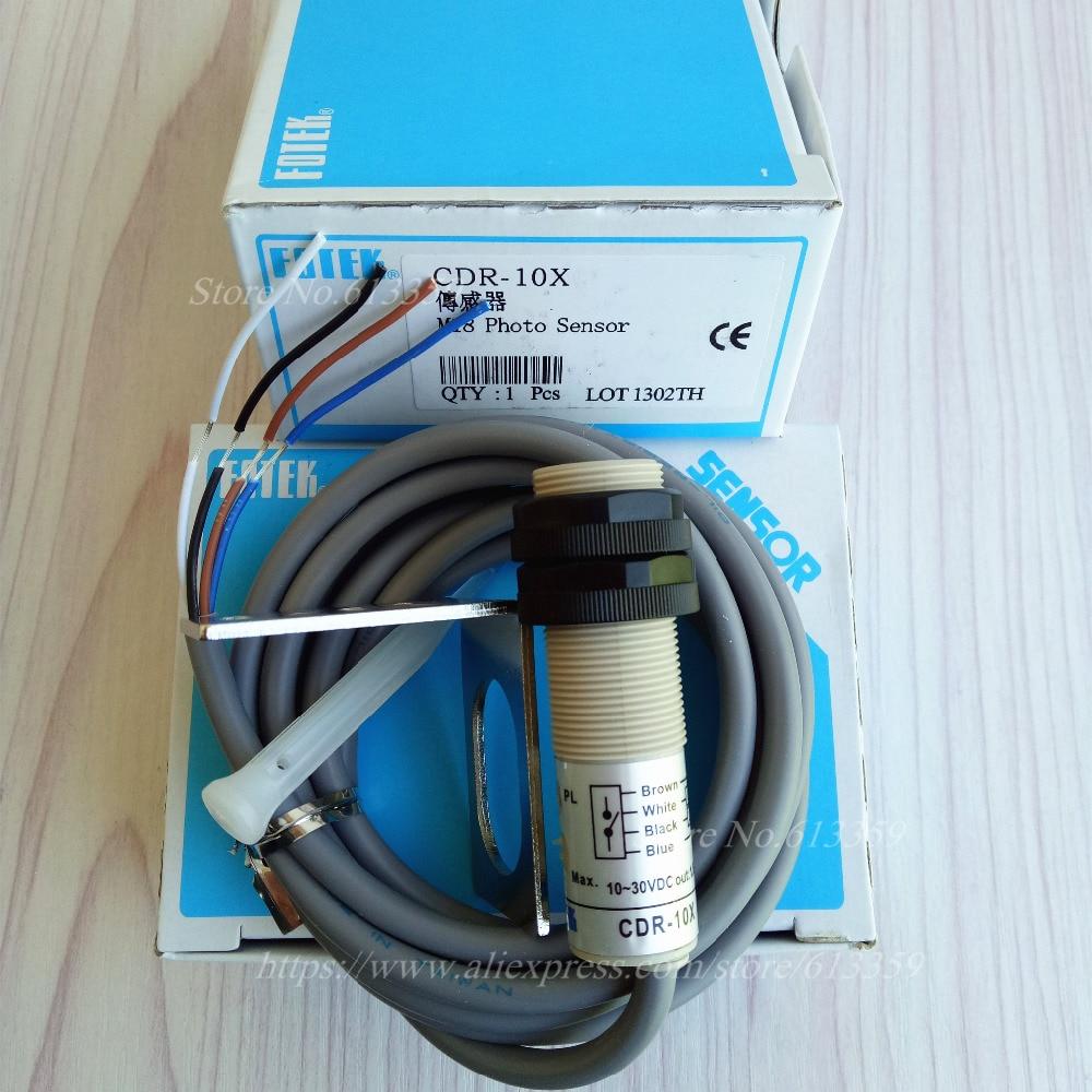 CDR 10X FOTEK New M18 TUBULAR TYPE PHOTO SENSOR Photoelectric Switch ...