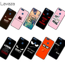 Lavaza Don 'T Touch My Phone Case untuk Kehormatan Mate 10 20S 6A 7A 7C 7X 8A 8C 8X9 P9 Lite Pro Y6 Y7 Y9 Perdana(China)