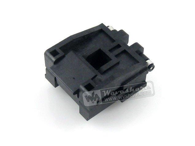 module PLCC32 IC51-0324-453 PLCC Yamaichi IC Test Burn-in Socket Programming Adapter 1.27Pitch Live-bug module qfp144 lqfp144 stm32f10xz stm32l1xxz stm32f2xxz stm32f4xxz yamaichi ic test socket adapter 0 5mm pitch