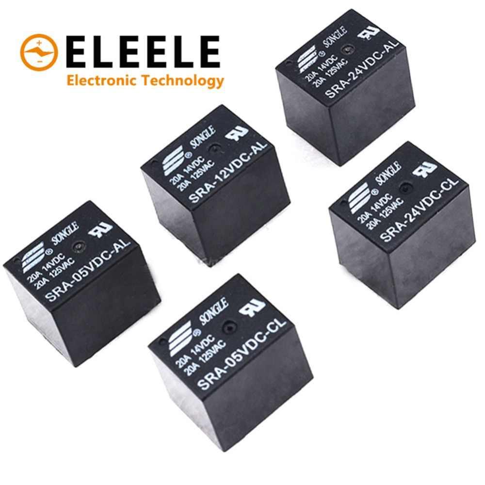 Detail Feedback Questions About 1pc My4nj Electronic Micro Mini Spdt 5vdc Relay 5pcs 5v 12v 24v 20a Dc Power Sra 05vdc Cl 12vdc
