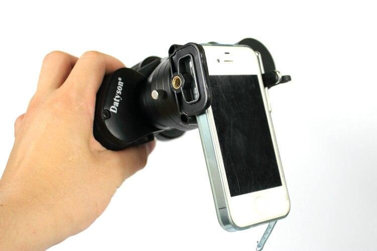 Neue handy fotografie adapter fernglas fotografie leuchte für