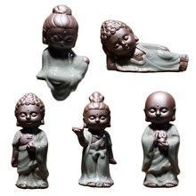 Изысканные модные кофейные аксессуары и чайные Домашние животные маленькие с изображением Будды и Гуаньинь комнатные украшения мясистый цветочный горшок Dexoration