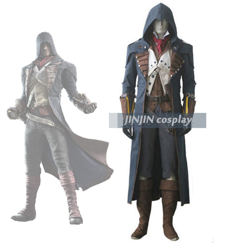Quality Customize Unity Arno Victor Dorian Cosplay Costume Whole Set Custom Made for Women Men Halloween Party Christmas image