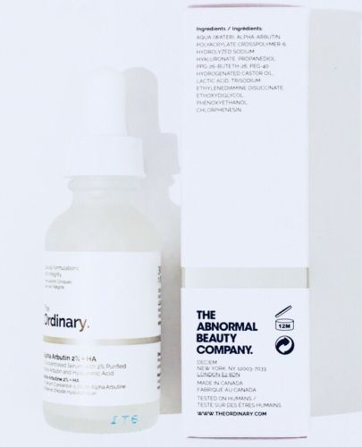 The Ordinary Alpha Arbutin 2% + HA Serum 1oz For Hyperpigmentation & Dark Spots 1000 grams 99% beta alpha arbutin pow der skin lightener 1kg free shipping listing for beta arbutin
