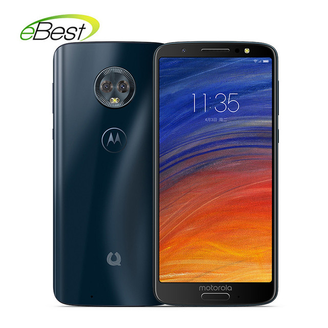 US $169 99 15% OFF|Motorola Green Pomelo 1S MOTO G6 Smartphone 5 7 Inch  18:9 Full Screen Mobile phone 4GB+64GB 3000mAh Touch Android Cell Phone-in