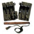 WW2 Вторую мировую войну Эми P38/P40 журнал патронная сумка для боеприпасов Чехол кожаный холст DE/107106