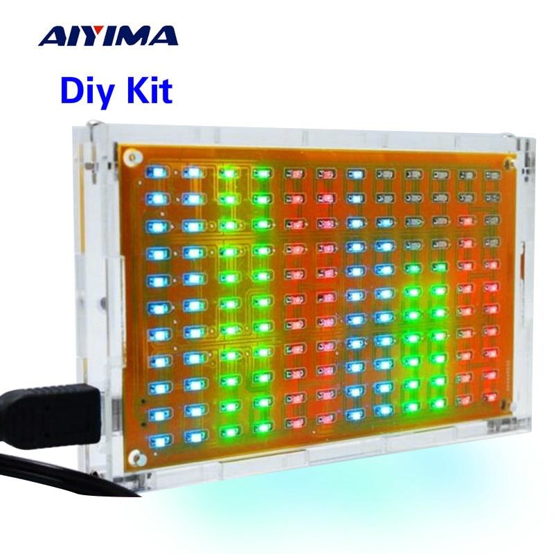 Aiyima LED музыкалық спектралды талдағышы - Басты аудио және бейне - фото 1