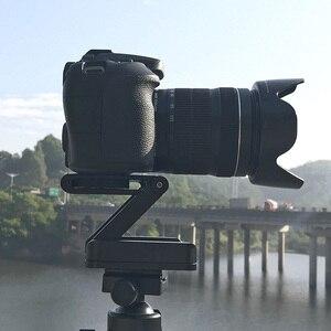 Image 5 - Ulanzi Z להגמיש הטיה חצובה ראש אלומיניום סגסוגת מתקפל שחרור מהיר צלחת Stand הר פלס עבור טלפונים מצלמה