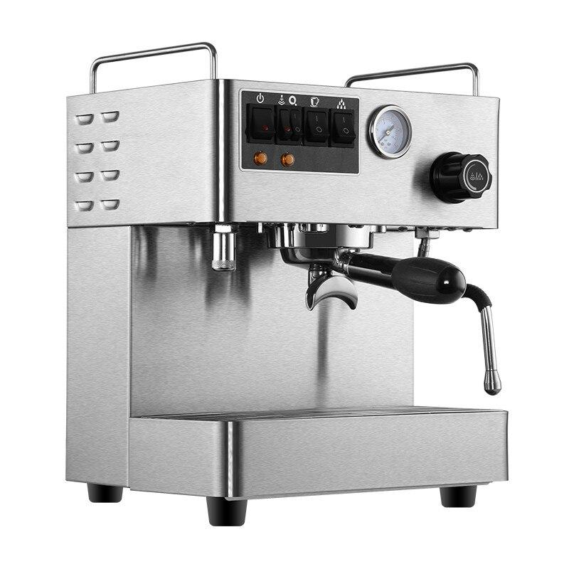Full - semiautomatic commercial espresso machine small high pressure double boiler pump beverage Espresso Coffee Maker espresso accessories knock box tr 80 inverted the slag bucket knock slag box semiautomatic coffee good helper hygiene