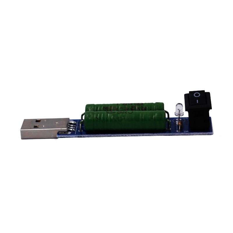 USB Load Resistance Výkonové rezistory Vybíjecí rozhraní - Měřicí přístroje - Fotografie 3