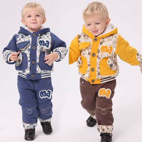 Anlencool Free shipping baby clothing Cotton newborn baby boy winter clothes Cotton 2017 new children winter coat smile models