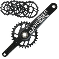 175 Mountainbike Crank Set 1x Systeem Single Speed Mtb Crankstel 28T 30T 32T 34T 36T Smalle Brede Kettingblad Voor Gxp XX1 X9 Xo X01