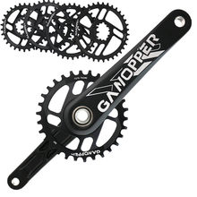 175mm Bike crank set Suit 1x System Crankset Chainwheel 30T 32T 34T 36T 7075 Alu Narrow Wide Chainring For GXP XX1 X9 XO X01(China)
