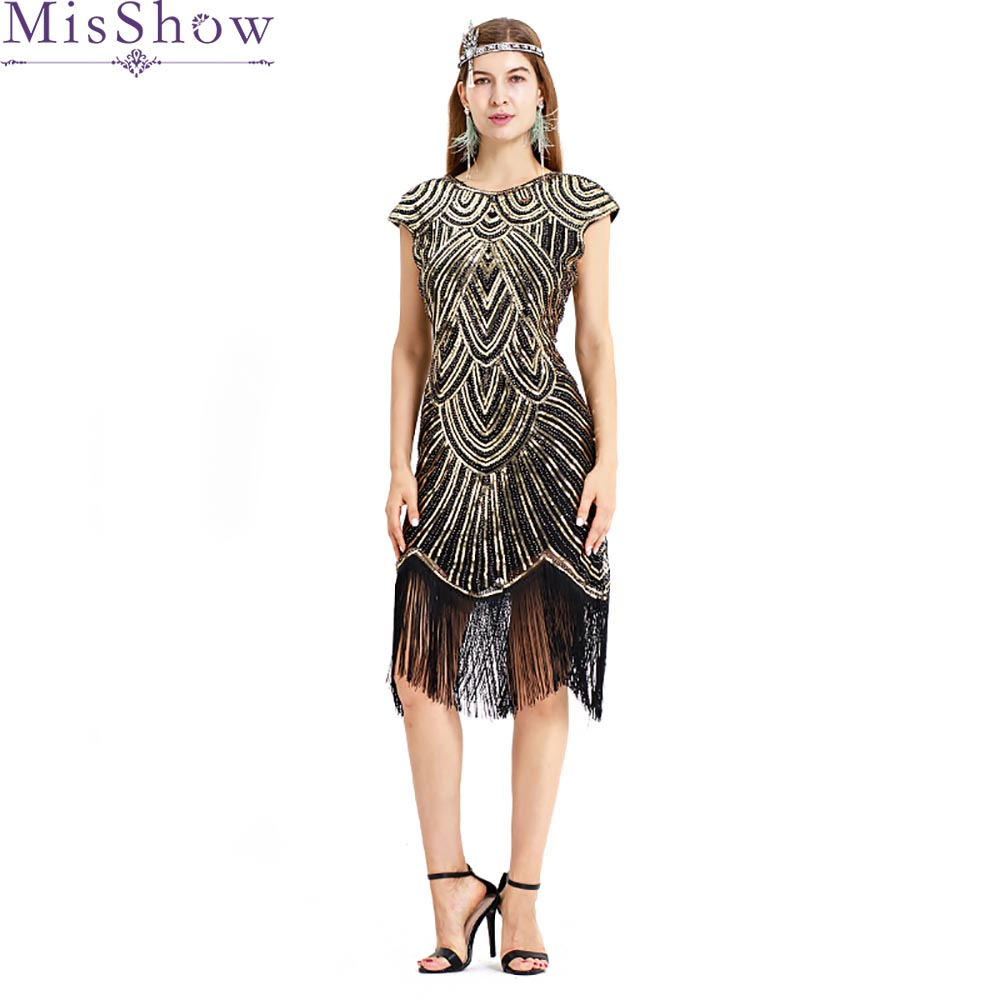 2019   Cocktail     Dress   Summer V-Neck Short Sleeve Black Golden Bling Sequined Women Party Fashion Designer Short   Cocktail   Gowns